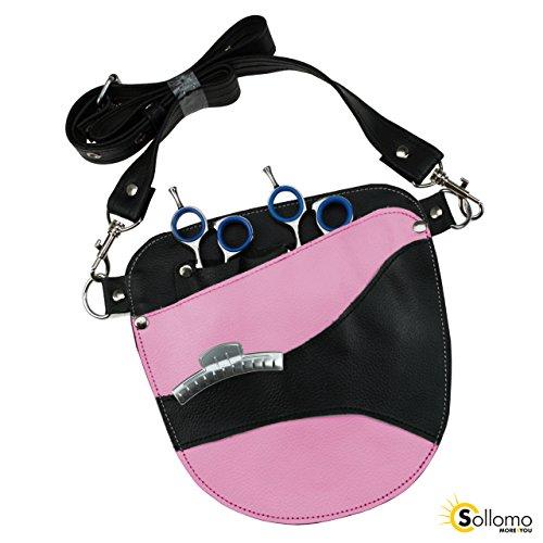 """Preisvergleich Produktbild Friseur - Werkzeugtasche Farbe: pink """"Echt Leder"""""""