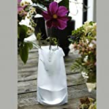Le Sack Vase, Verwandlungsvase in frost Transparent