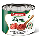 Doppio concentrato di pomodoro da 2550g - La Torrente - Cartone da 6 Pezzi