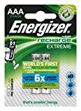 Energizer NimH-Akku Rechargeable Extreme Micro (1,2Volt 800mAh, vorgeladen 2er-Packung)
