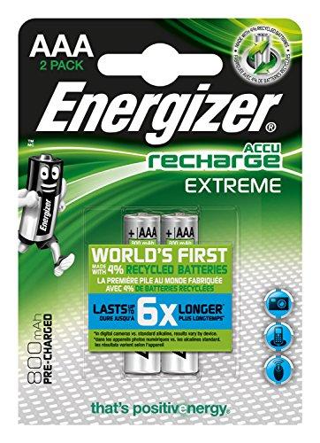 Energizer E300624300 Níquel metal hidruro 800mAh 1.2V batería recargable...