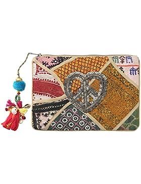 Trägerlose Tasche / Clutch Hippie De Luxe