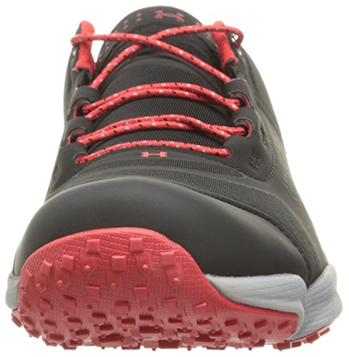 Under Armour Speedfit Hike Low Synthétique Chaussure de Randonnée BLK-STL-RED