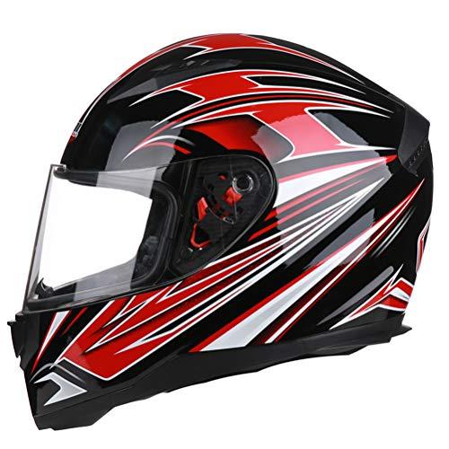 Adulto pieno viso moto Caschi classici anti nebbia antivento uomini Mountain Road moto casco leggero anti caduta comfort donne Racing tappi di sicurezza