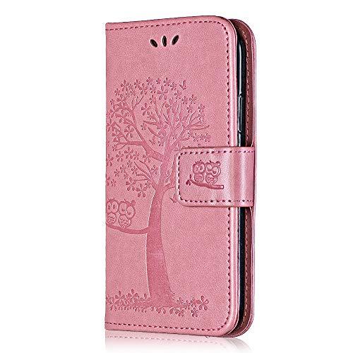 Cover per Samsung Galaxy J5 2016 Bear Village Custodia Galaxy J5 2016 Pelle Goffratura Chiusura Magnetica Flip Custodia con Gratuito Pellicola Vetro