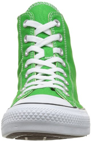 Converse Damen All Star Hi Canvas Seasonal Gymnastikschuhe Grün (Jungle Grün)