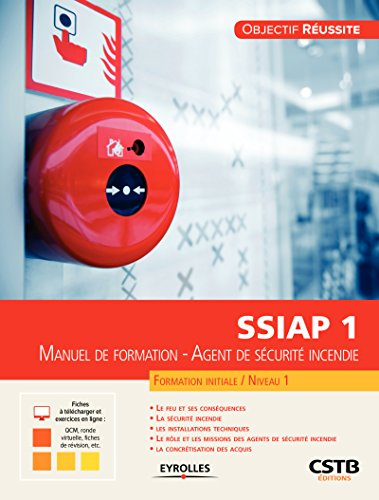 lire gratuitement ebooks ssiap 1  manuel de formation