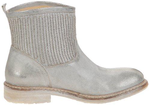 Now 1100, Boots femmes Argent (Metal Acciaio Nikel)