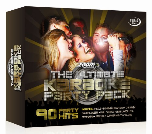 Price comparison product image The Ultimate Karaoke Party Pack - 6 CD+G Box Set - from Zoom Karaoke