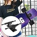 Solomi Longboard Skateboard Trucks - Professionelle Skateboard Trucks aus Aluminium-Magnesium-Legierung