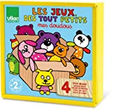 Vilac Set Of Four Wooden Games 6217