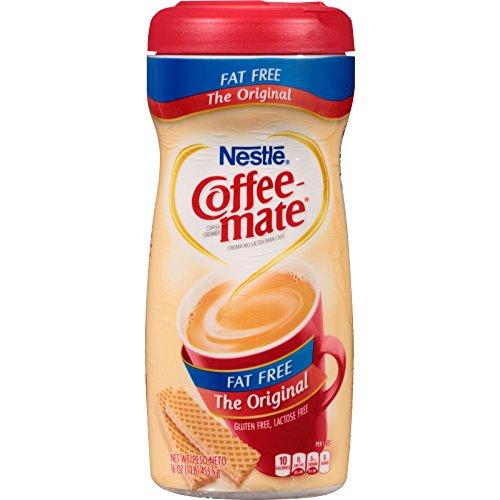 Kaffee-mate-pakete (Nestle Coffee-Mate fettfrei Das Original Kaffeeweißer Pulver, 453.60 Gramm Pakete (Packung mit 12))
