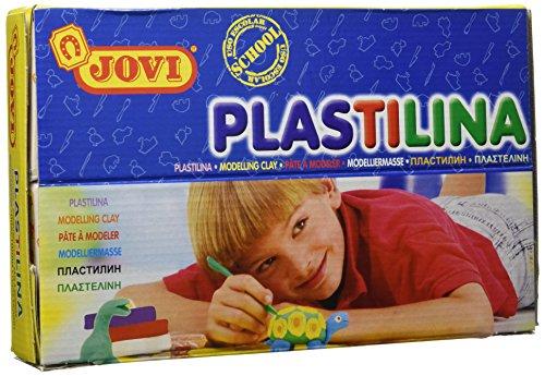 jovi-729925-pack-de-30-plastilinas-50-gr-multicolor