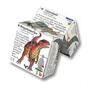 Dinosaurs - Cube Book (6 - 106 years)