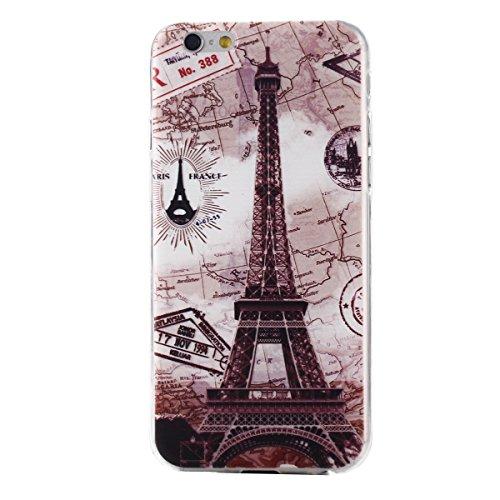 """MOONCASE Etui pour iPhone 6 / 6S (4.7"""") Gel TPU Silicone Case Cover Housse Coque Étui Mi06 Mi11 #1122"""