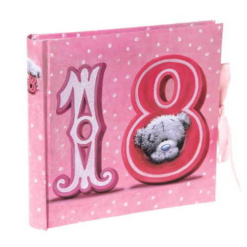 Best Saving for Me to You Me to You 9 x 9.5-inch Tatty Teddy 18th Birthday Photo Album, Pink Discount
