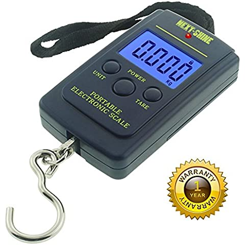 Next-shine Electronic Digital Hanging/Fish/Luggage/Kitchen Scale 0.01 lb/0.005kg, Dark Blue by Next