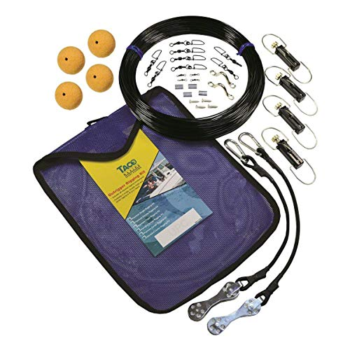 TACO Metals TACO Premium Mono Double Rigging Kit -
