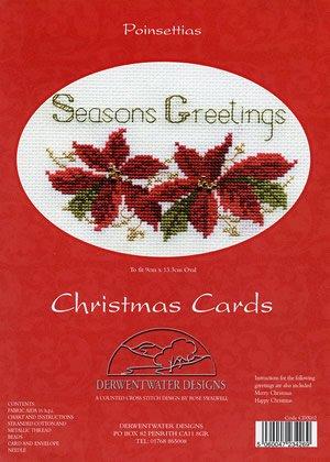 Kreuzstich Weihnachten Card