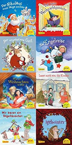 Pixi-Weihnachts-8er-Set 33: Fröhliche Weihnacht überall (8x1 Exemplar) (33)