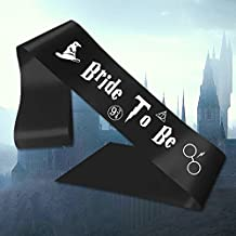 5876c8adcf62f Personalizado Banda Harry Potter Bride to be Cinta Negra Despedida De  Soltera Fiesta Fin De Semana
