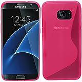 Samrick S Wave Coque de protection en hydrogel pour Samsung Galaxy S7Edge–rose