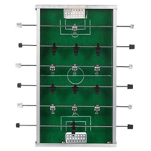 Hykis Mini Table Top Desktop-Fu?ballspiel-Unterhaltung Freizeit Fussball Spiel-Tool Tabelle Fu?ball-Spiel-Set-Party-Spielzeug