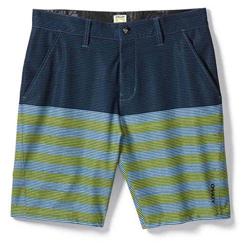 Oakley Ultralight Shorts 38 Blau/Grün - Oakley Golf Shorts
