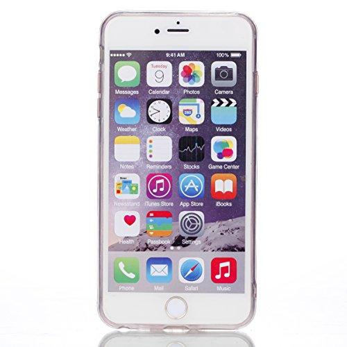 iPhone 6 Plus/6S Plus Hülle, Voguecase Silikon Schutzhülle / Case / Cover / Hülle / TPU Gel Skin Handyhülle Premium Kratzfest TPU Durchsichtige Schutzhülle für Apple iPhone 6 Plus/6S Plus 5.5(EPOXY-Fü EPOXY-Fünfzackiger Stern