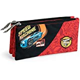 estuche escolar triple HOT WHEELS by DIS2