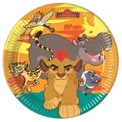 Procos The Lion Guard Assiettes de fête en papier (lot de 8)