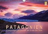 Patagonien: Einzigartige Landschaft am Ende der Welt (Wandkalender 2019 DIN A4 quer): Berühmte Berge und mächtige Gletscher im einzigartigen Licht (Monatskalender, 14 Seiten ) (CALVENDO Natur)