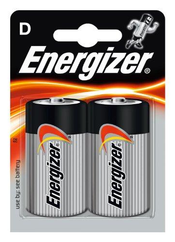 Energizer Piles jetables LR 20 D x 2 Classic