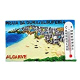 PRAIA Da Oura Algarve Portugal Kunstharz 3D starker Kühlschrank Magnet Souvenir Tourist Geschenk Chinesische Magnet Hand Made Craft Creative Home und Küche Dekoration Magnet Sticker