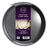 Prochef Cake ring with Teflon non-stick coating, 23 cm diameter, gray