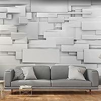 murando - Fototapete Abstrakt 150x105 cm - Vlies Tapete - Moderne Wanddeko - Design Tapete - Wandtapete - Wand Dekoration - 3D grau f-A-0254-a-a