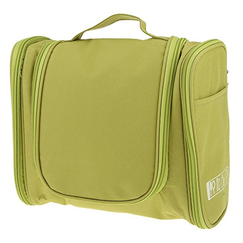 Generic Imported Multifunction Travel Toiletry Wash Cosmetic Bag Makeup Hanging Storage Green
