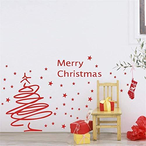 Hechgobuy Die Trendige Weihnachtsbäume Linie Das Glas - Fenster - Schlafzimmer Wand-, 72 * 120 cm