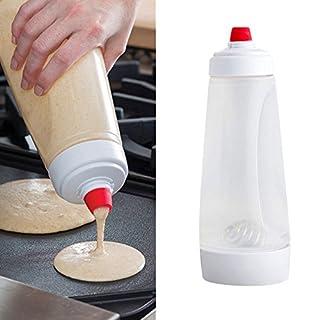 huichang Poffertjes Pancake Batter Mixer Cream Batter Dispenser Mixer with Blender Ball