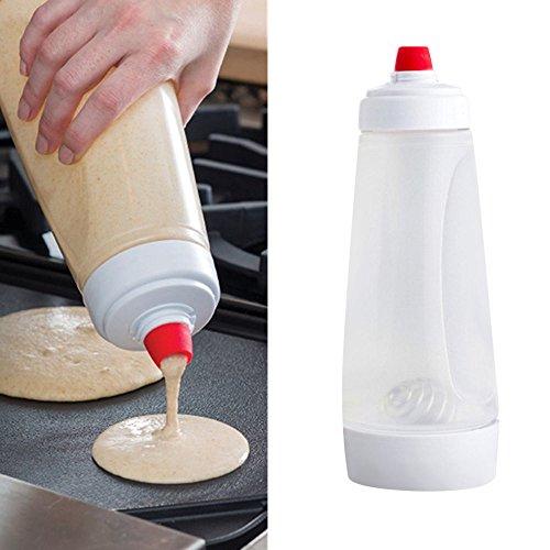 Ceran Top (huichang Poffertjes Pancake Batter Mixer Cream Batter Dispenser Mixer with Blender Ball)