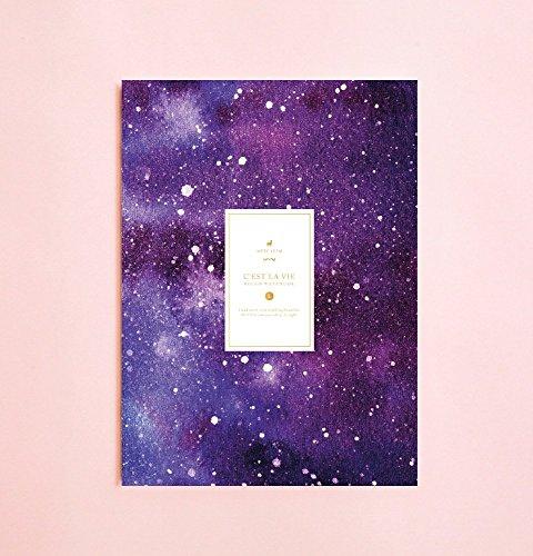 Galaxis Milchstraße linierte Notizbuch | Romantik • Schreibtagebuch • Notizbuch für Schriftsteller-Geschenk • Tagesplaner • Großes Notizbuch • Das Notizbuch • Zurück zu Schule • Kind-Notizbuch
