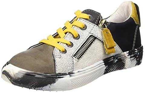 Ikks Brandon, Sneakers Basses garçon, Noir (11 Vtc Noir/Gris Dpf/2677), 30 EU