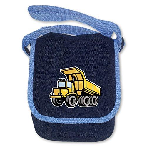 Kindergartentasche Kipplaster für Kindergarten und Freizeit Umhängetasche Bag Base® BagBase Mini Reporter 17x23x7cm navy blau
