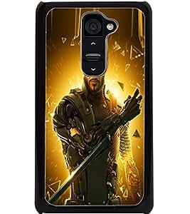 ColourCraft The Warrior Design Back Case Cover for LG G2