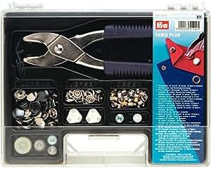 Prym Boîte à couture spécial boutons pression Vario Plus