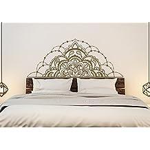 Pegatina mandala cabecero color a elegir para dormitorios hogar 42 x 104 cm de OPEN BUY