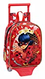 Kindergartenrucksack Ladybug Sparkle - Offiziell - mit Trolley Safta