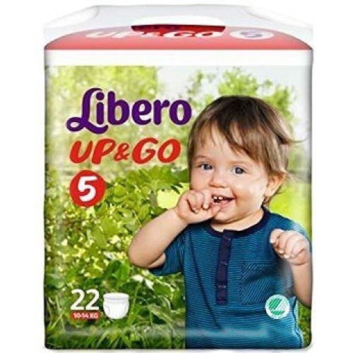 Libero Pannolini Up&go 5 (10-14 kg) 22 Pezzi