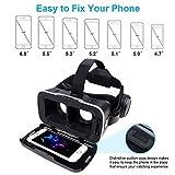 AUHRE VR Headset Virtuelle Realität Brille Box 3D Filme und Spiel Smartphones Kompatibel Sony, Samsung, HTC, Huawei, XiaoMi, vivo, Nubia, Lg, Smartisan, MEIZU, ZTE