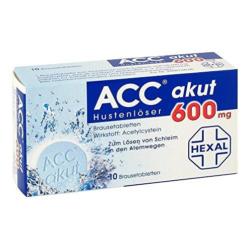 ACC akut 600 mg Z Hustenlöser, 20 St. Brausetabletten (Brausetabletten Trinken)